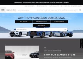 thompsonlexusdoylestown.com