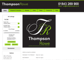 thompsonrowe.co.uk