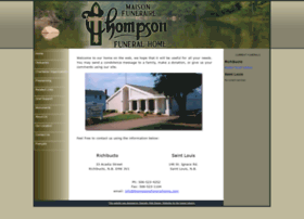 thompsonsfuneralhome.com