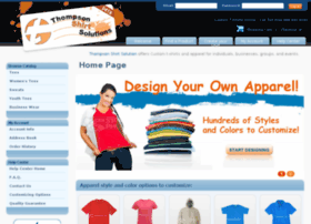 thompsonshirtsolutions.com