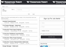 thompsonthrift.applicantpro.com