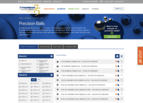 thomsonprecisionball.com
