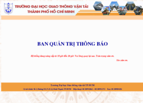 thongbao.ut.edu.vn