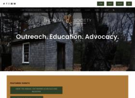 thoreausociety.org
