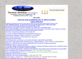 thorntonsbooks.co.uk
