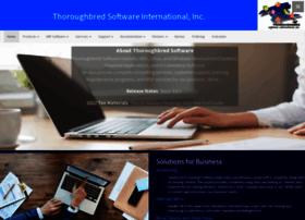 thoroughbredsoftware.com
