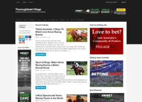 thoroughbredvillage.com.au