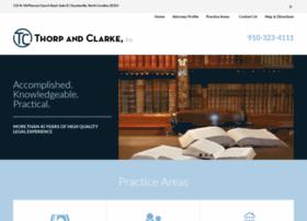 thorpclarke.com