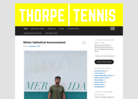 thorpetennis.com