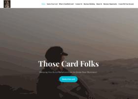 thosecardfolks.com