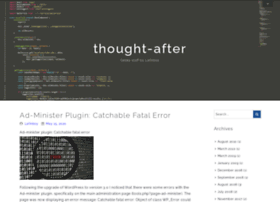 thought-after.com