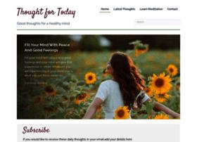 thoughtfortoday.org.uk