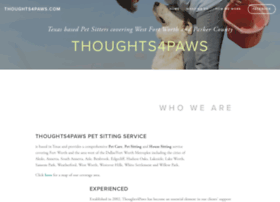 thoughts4paws.com