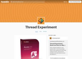 threadexperiment.tumblr.com