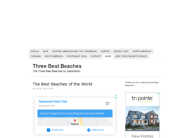 threebestbeaches.com