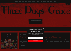 threedaysgrace.com