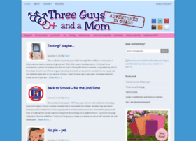 threeguysandamom.com