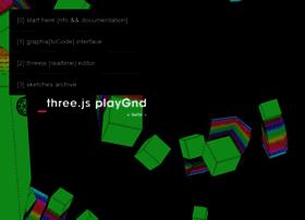 threejsplaygnd.brangerbriz.net