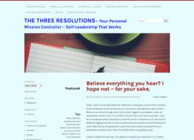 threeresolutionsguy.com