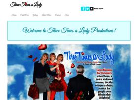 threetimesaladyproductions.com