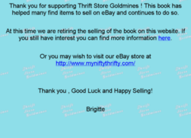 thriftstoregoldmines.com