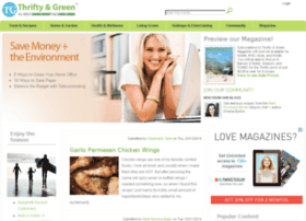thriftyandgreen.com