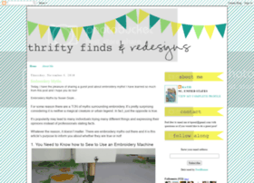 thriftyfindsandredesigns.blogspot.mx