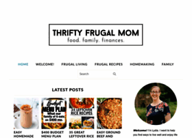 thriftyfrugalmom.com