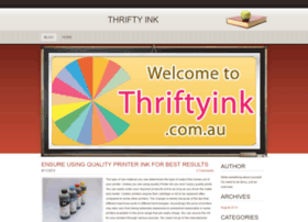 thriftyink.weebly.com