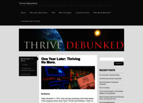 thrivedebunked.wordpress.com