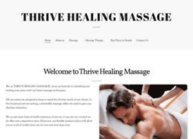 thrivehealingmassage.com