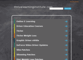 thrivelearninginstitute.com