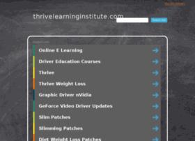 thrivelearninginstitute.com