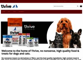 thrivepetfoods.com