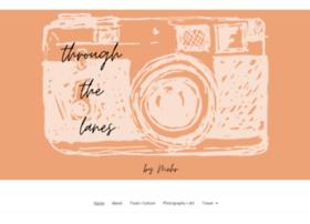 throughthelanes.com