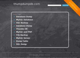 thumpdumpdb.com