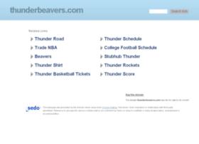 thunderbeavers.com