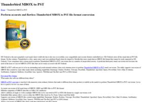 thunderbird.mboxtopst.org