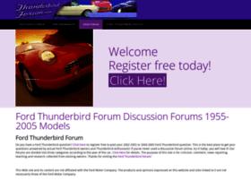 thunderbirdforum.com