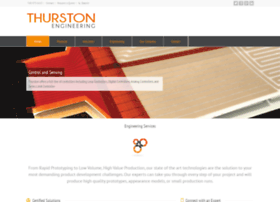 thurstonengineering.com