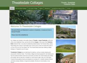 thwaitecottages.co.uk
