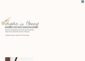 thyme-is-honey.com