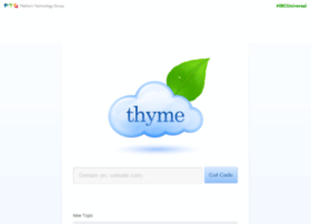thyme.comcastnets.net