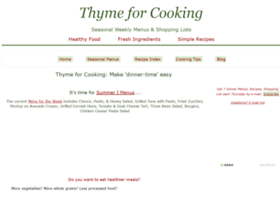 thymeforcooking.com