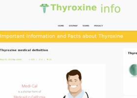 thyroxineinfo.com