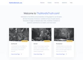 Thywordistruth.com