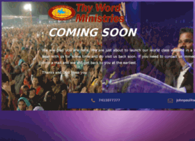 thywordministries.org