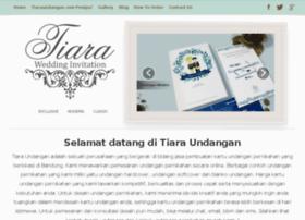 tiaraundangan.com