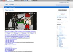 tibiasecrets.wikidot.com