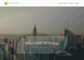tick42.com